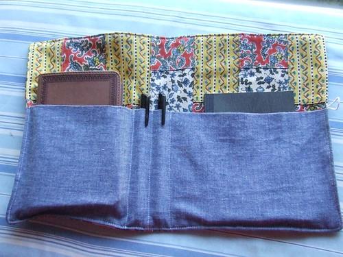 bible/journal holder inside