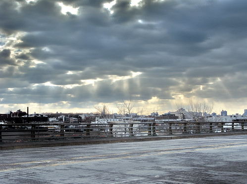 A cloudy day in Brooklyn by you.