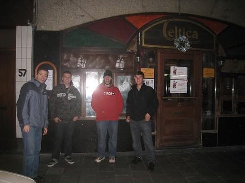 (from left) Scott, Tyler, Steve, and Dan
