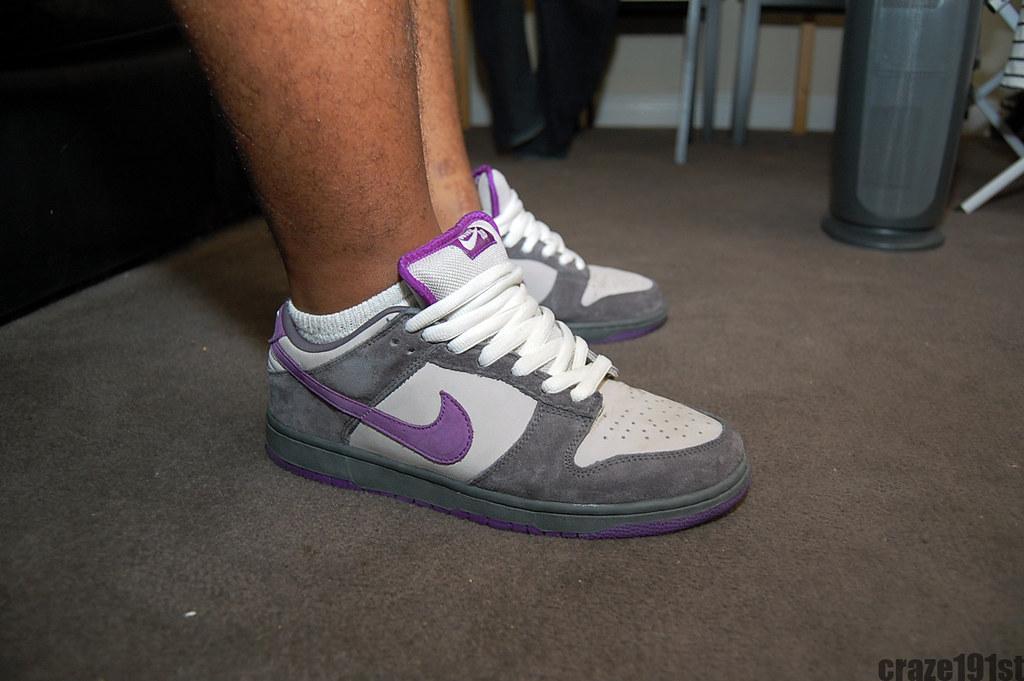 """Nike SB """"Purple Pigeons"""""""
