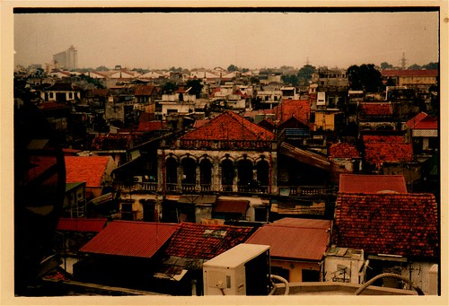 Looking north, Old Ha Noi by Peter Grevstad.