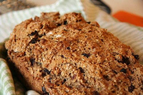 Whole Wheat Soda Bread with Millet and Currants