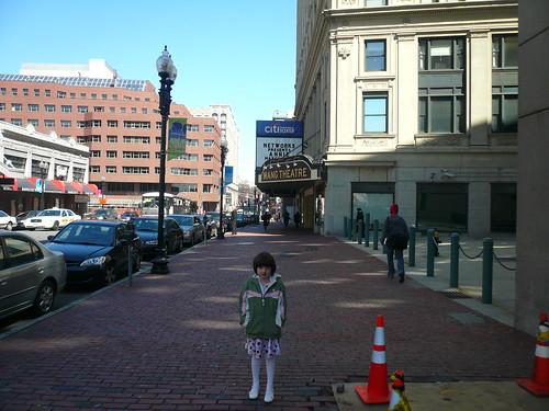 ella in the street
