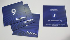 Fedora 9 Media Artwork