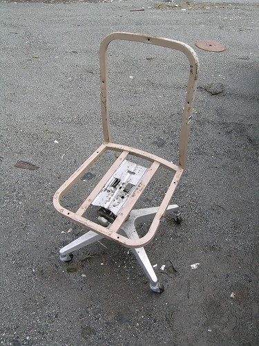 chair after