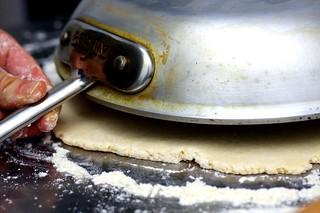 sizing the crust