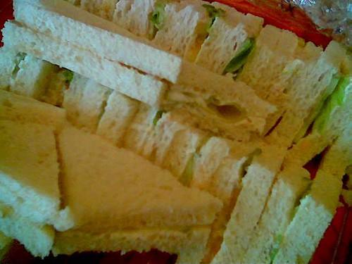 International Education Fair - sandwiches