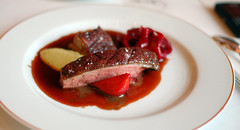 7th Course (Supplement): Canard de Challans a l'Hibiscus