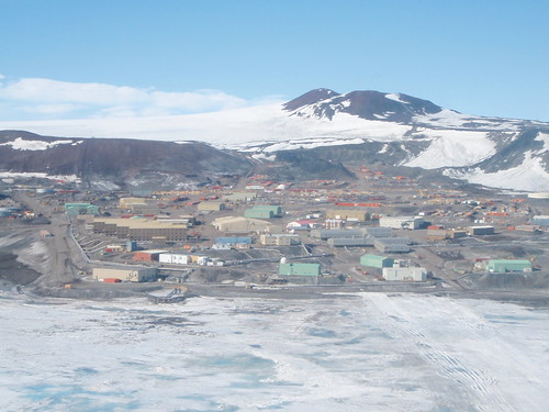 McMurdo from the air