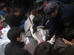Violencia policial ante la Dator