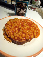 British Baked Beans on Toast by fritish