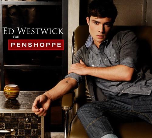Ed Westwick for Penshoppe