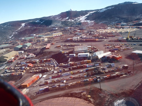 McMurdo after takeoff