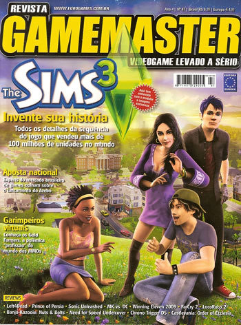 gamemastersims3cover by you.