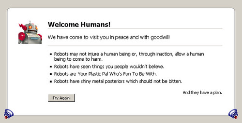 Welcome Robot!