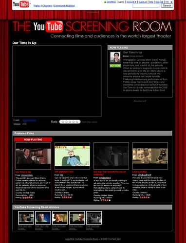 YouTube Screening Room