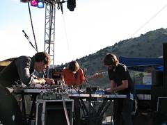 Holy Fuck @ Monolith Festival, Red Rocks 09/12/08