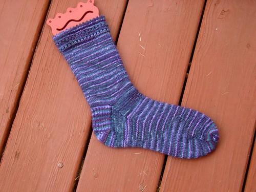 The sock.