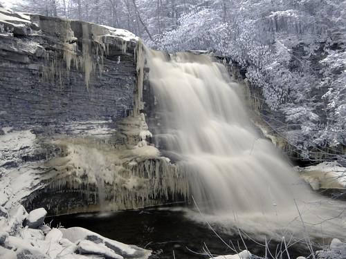 Frozen Swallow Falls