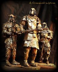 The warriors(Appeared again scrap iron)