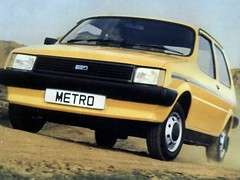 Austin Mini Metro - Not a boat