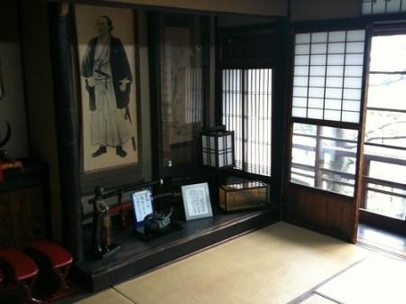 寺田屋の龍馬の部屋
