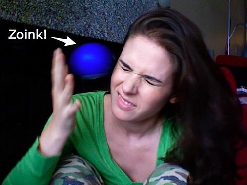 one ball juggling skillz