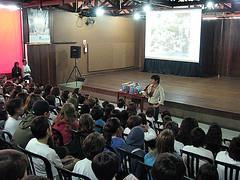 Alunos do Ensino Médio também participaram de uma das palestras