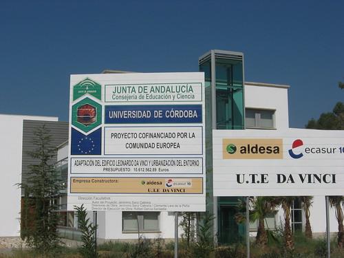 Edificio Leonardo Da Vinci Campus Universitario Rabanales Arquitecto Jeronimo Sanz Cabrera