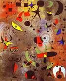 Joan Miró. Constelación, Despertando al Amanecer. 1941.