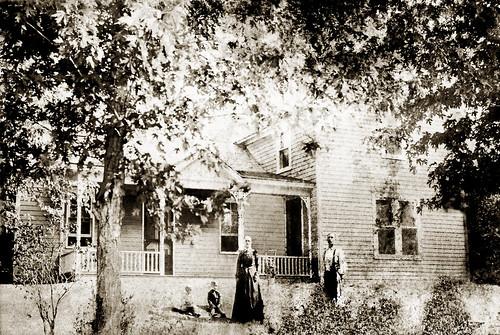 Joseph Main Family Farmhouse - Restored Sepia
