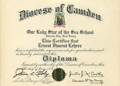 Ernie's OLSS Diploma
