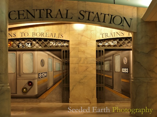 Its a Station, Its a Hallway, Its a Mural!