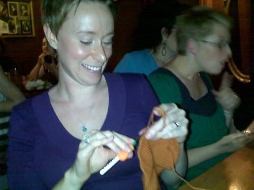 Help crochet hook is on fire!