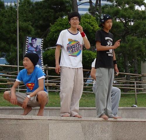 Parkour in Haeundae