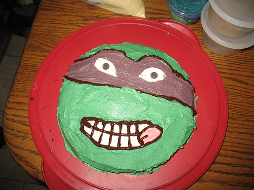 Donatello Vegan Cake