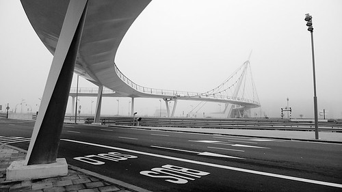 Niebla en Zaragoza-Delicias