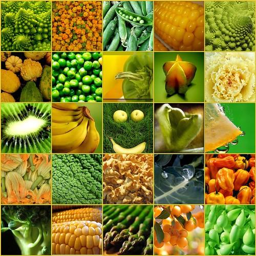 Obst + Gemüse / Fruits + Vegetables by Veri's kleiner Winkel.