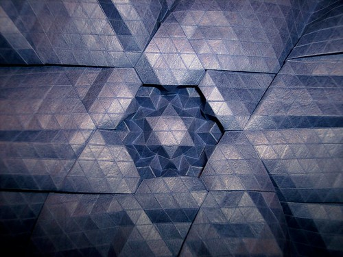 Framed Star Tessellation 10 by you.