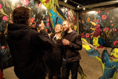 Scenes from Judith Supine's Solo Show at English Kills