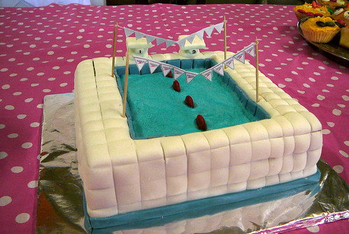 Swimming Pool Cake Sugar And Spice And All Things Nice