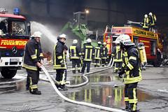Feuer Altmatratzenlager Wallau 27.12.08