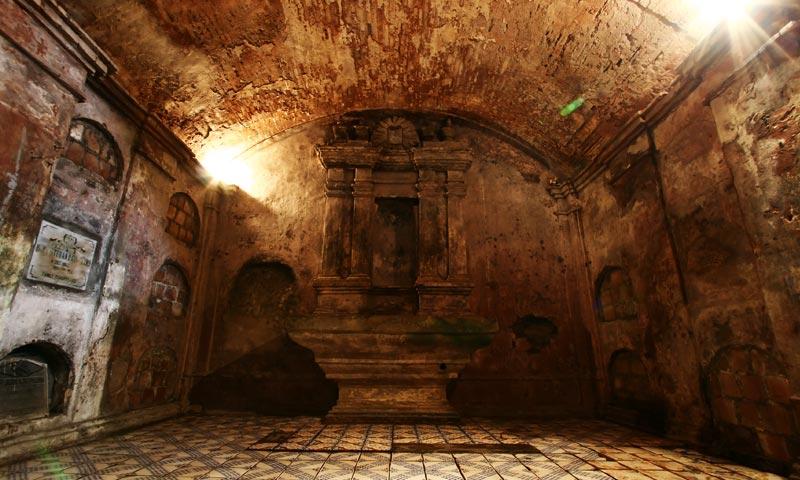 Nagcarlan Underground Cemetery: Laguna, Philippines