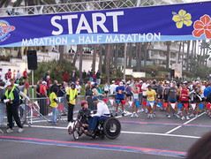 Surf City Marathon - Starting Line