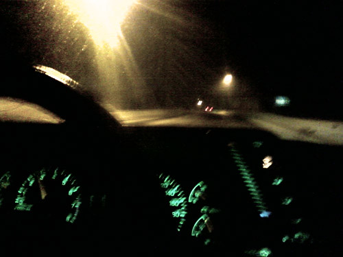 Night Drive III by Karyn Ellis