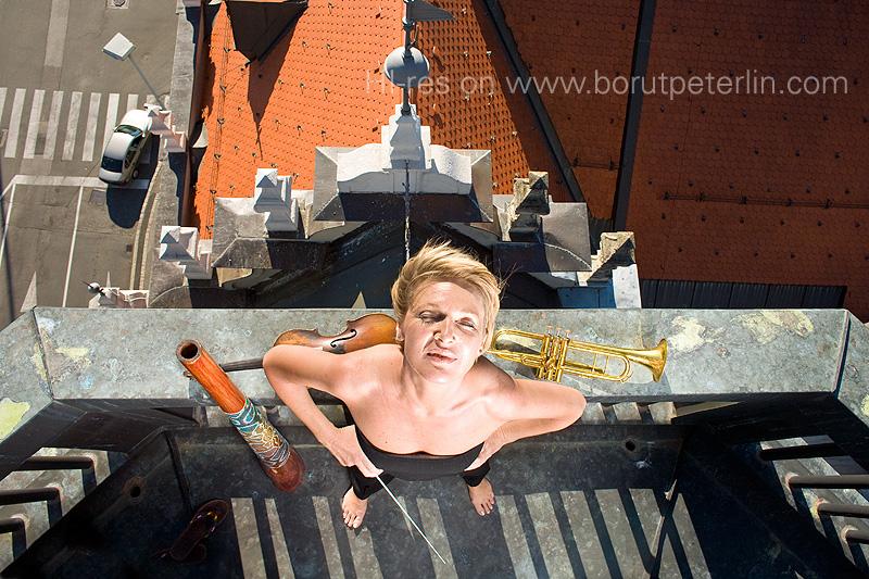 Striptiz, creative portrait rubric of Mladina weekly.