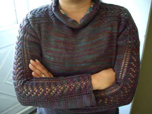 Side Impact Sweater - Click the link to view the source of the pattern