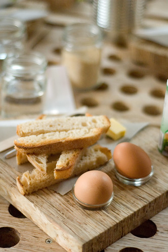 Soldier toast and Eggs