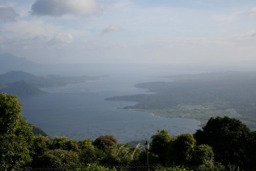 View from Taal Vista