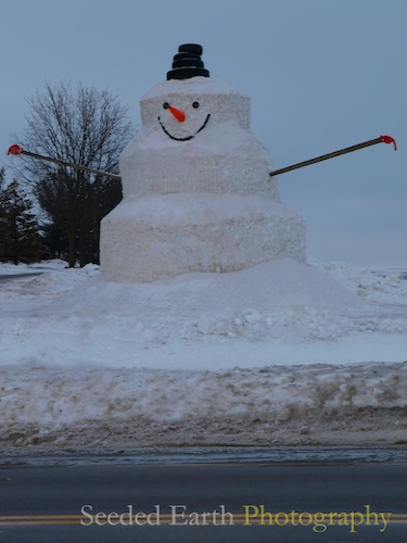 The Biggest Snowman